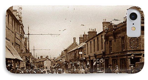 Fleet Street Swindon England IPhone Case by The Keasbury-Gordon Photograph Archive