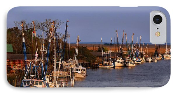 IPhone Case featuring the photograph Fleet's In by Laura Ragland