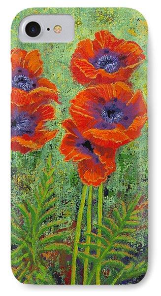Fleurs Des Poppies IPhone Case