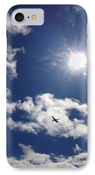 Flight In The Clouds IPhone Case by Nikki McInnes
