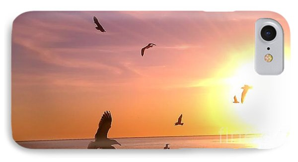 Flight Into The Light IPhone Case by Chris Tarpening