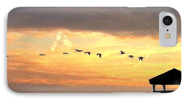 IPhone Case featuring the photograph Flight Of Freedom by Joetta Beauford