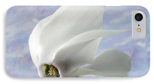 Flight Of The Cyclamen. IPhone Case by Terence Davis