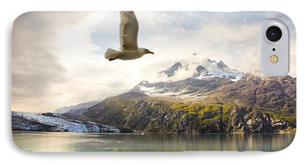 IPhone Case featuring the photograph Flight Over Glacier Bay by Janis Knight