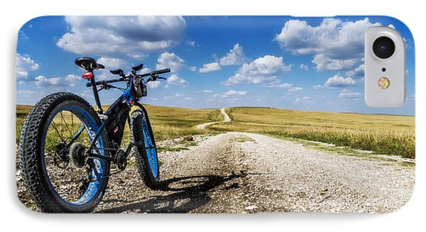 Flint Hills Fall Fatbike Ride IPhone Case