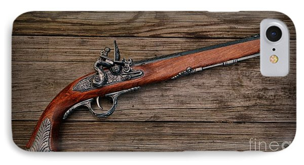 Flintlock Blunderbuss Pistol Phone Case by Paul Ward