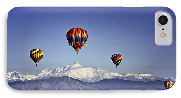 Floating Above Longs Peak IPhone Case