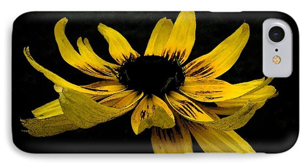 Black Eyed Susan Suspense IPhone Case by Ecinja
