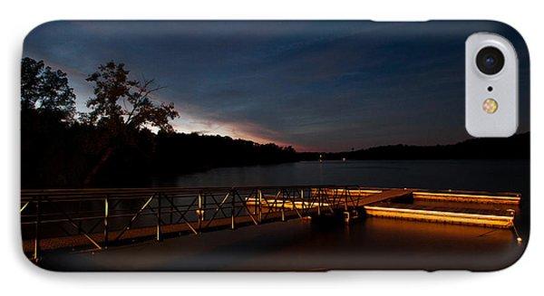 Floating Dock At Deer Creek IPhone Case by Haren Images- Kriss Haren