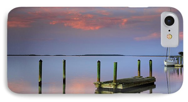 Floating Docks Phone Case by Phill Doherty