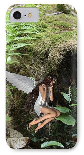 Floating Fairy In Forest IPhone Case