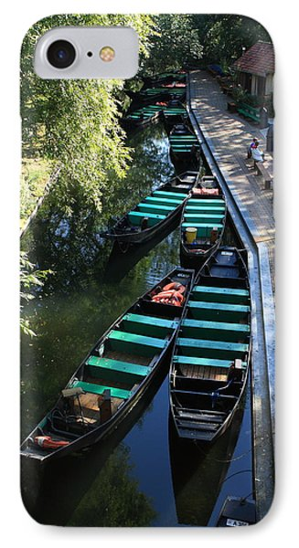 Floating Grardens Of Amiens IPhone Case by Aidan Moran