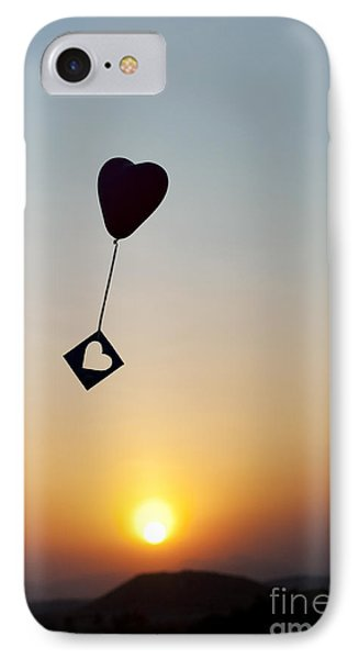 Floating Hearts IPhone Case by Tim Gainey