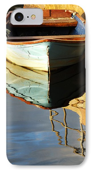 Floating On Blue 4 IPhone Case by Wendy Wilton