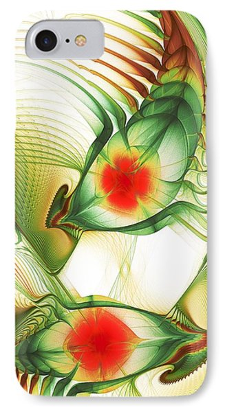 IPhone Case featuring the digital art Floating Thoughts by Anastasiya Malakhova