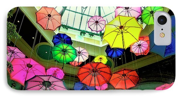 Floating Umbrellas In Las Vegas  Phone Case by Susan Stone