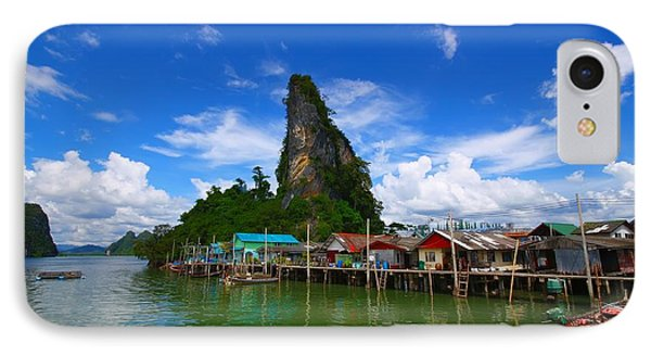 Floating Village IPhone Case