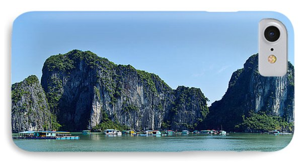 Floating Village Ha Long Bay IPhone Case by Scott Carruthers