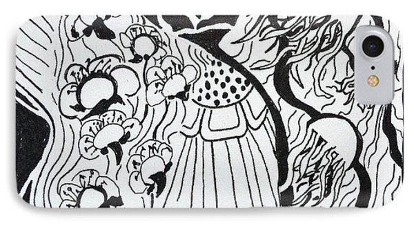 Floating Zen Phone Case by Beverley Harper Tinsley