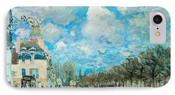 Flood At Port-marly IPhone Case by Alfred Sisley