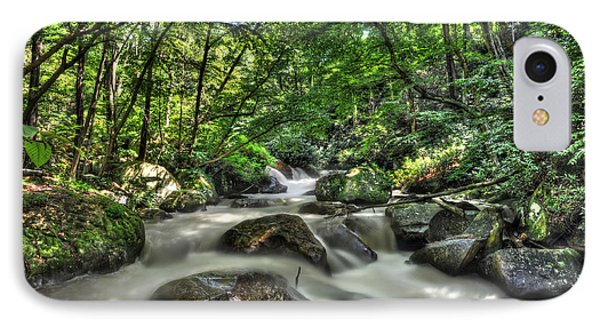Flooded Small Stream  Phone Case by Dan Friend