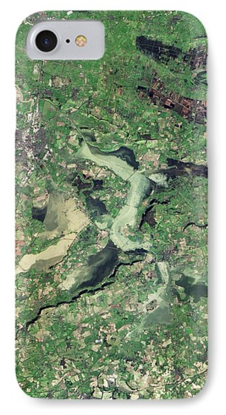 Flooded Somerset Levels IPhone Case