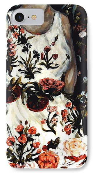 Flora IPhone Case by Carrie Joy Byrnes