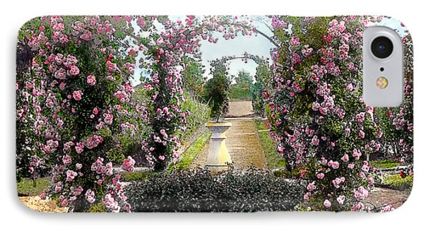 Floral Arch IPhone Case by Terry Reynoldson