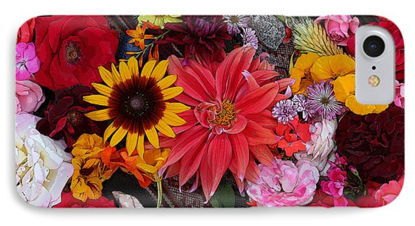 Floral Bounty 2 IPhone Case by Jeanette French