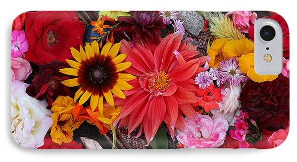 IPhone Case featuring the photograph Floral Bounty by Jeanette French