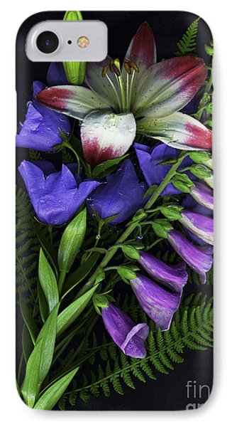 Floral Bouquet 2 IPhone Case by Sharon Talson