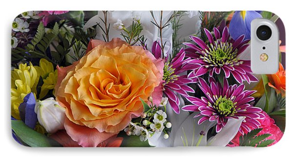 Floral Bouquet 6 IPhone Case by Sharon Talson