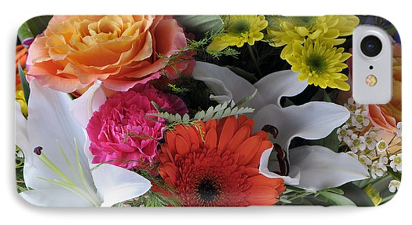 Floral Bouquet 7 IPhone Case by Sharon Talson