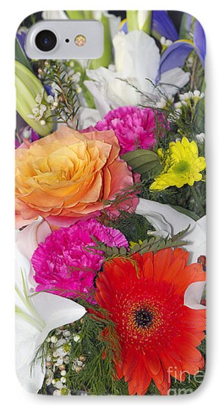 Floral Bouquet IPhone Case by Sharon Talson