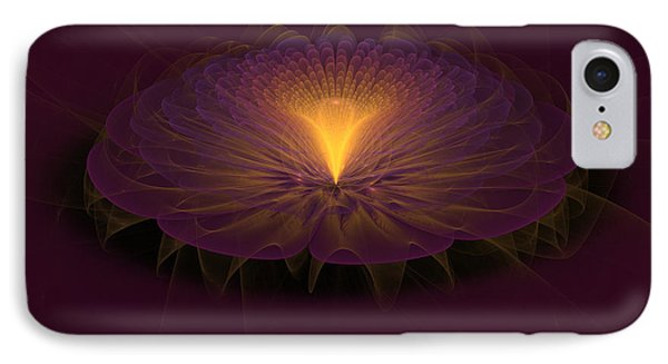 IPhone Case featuring the digital art Floral Creation by Arlene Sundby
