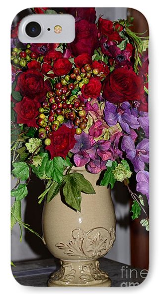 Floral Decor Phone Case by Kathleen Struckle