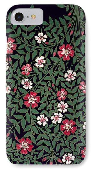 Floral Design IPhone Case by Owen Jones