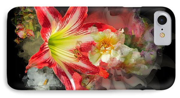 Floral Explosion IPhone Case by Davina Washington