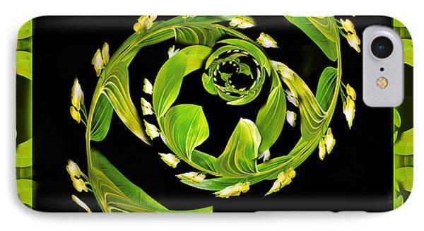 Floral Fantasia Phone Case by Jean Noren