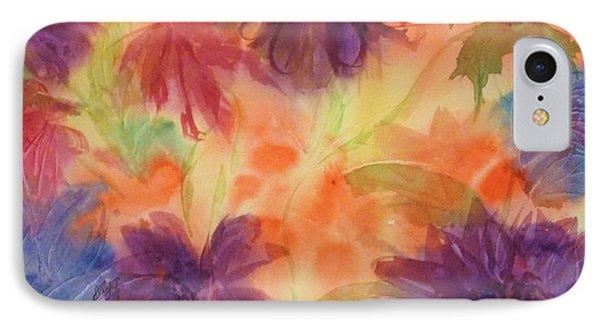 Floral Fantasy IPhone Case by Ellen Levinson