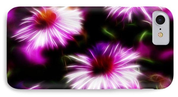 IPhone Case featuring the photograph Floral Fireworks by Selke Boris