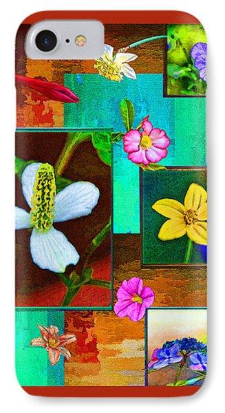 Floral Frames IPhone Case