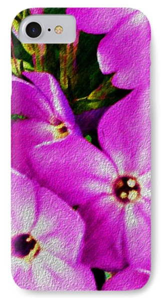 IPhone Case featuring the digital art Floral Fun 012714 by David Lane