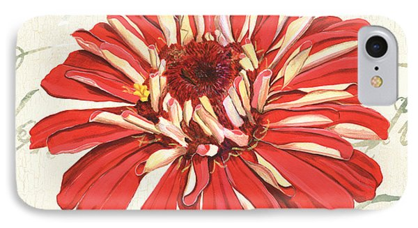 Floral Inspiration 1 IPhone Case by Debbie DeWitt