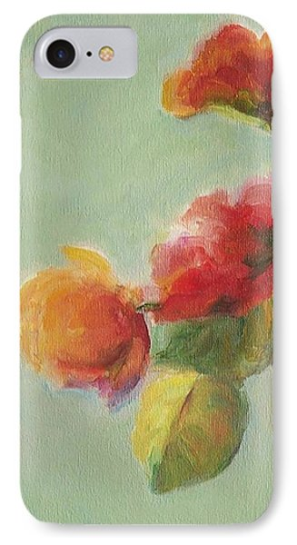 Floral Painting Phone Case by Mary Wolf