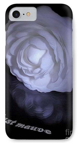 Floral Reflections 4 - Camellia Phone Case by Kaye Menner
