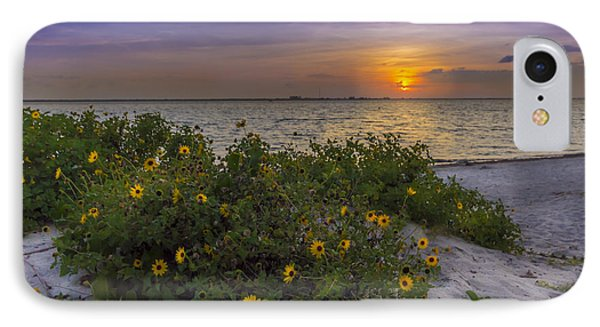 Floral Shore IPhone Case by Marvin Spates