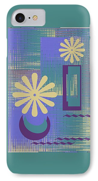 Floral Still Life In Purple IPhone Case by Ben and Raisa Gertsberg