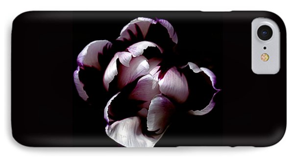 Floral Symmetry IPhone Case by Rona Black