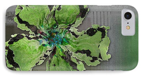 Floralart - 0404 Green IPhone Case